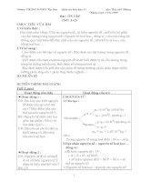 Giáo án cơ bản từ tiết 1 đến tiết 65 ( cơ bản)