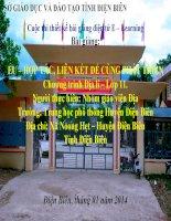 Slide Địa 11 bài EU – HỢP TÁC, LIÊN KẾT ĐỂ CÙNG PHÁT TRIỂN _ THPT Huyện Điện Biên