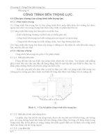 Chương 4 Công trình bến trọng lực - Giáo trình công trình bến cảng