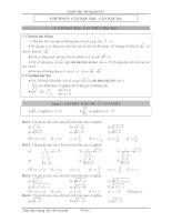 bài tập đại số lớp 9 đầy đủ