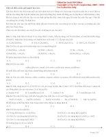 Chuyên đề lý thuyết và bài tập hóa tổng hợp