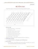 TÍNH TOÁN THIẾT KẾ KẾT CẤU BẰNG CHƯƠNG TRÌNH SAP2000 - BÀI TẬP 7 HỆ DẦM GIAO