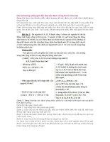 Các phương pháp giải bài tập xác định công thức hóa học