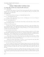 Chương 5 Công trình bến tường cọc - Giáo trình công trình bến cảng