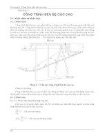 Chương 3 Công trình bến bệ cọc cao - Giáo trình công trình bến cảng