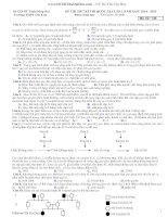 đề thi thử thpt qg 2015 môn sinh có lời giải p2