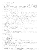 bài 13. Khái quát về năng lượng và chuyển hóa vật chất