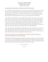 Tổng hợp 318 câu hỏi và đáp án đề thi trắc nghiệm mạng máy tính