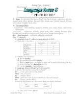 Language Focus 5