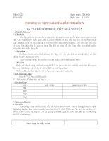 Bài 27: chế độ phong kiến nhà Nguyễn ( T1)