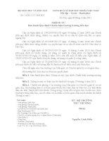 Thông tư số 14/2011/TT-BGDĐT ngày 08/4/2011 của Bộ Giáo dục và Đào tạo
