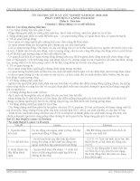 Bài giảng ôn thi TN phần tiến hóa và sinh thái chuẩn tháng 4-2011