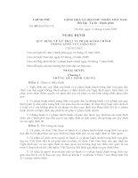 Nghị định 48/2005/NĐ-CP Quy định xử phạt vi phạm hành chính trong lĩnh vực giáo dục