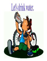 LET''S DRINK WATER !