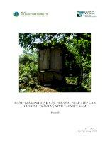 đánh giá định tính các phương pháp tiếp cận chương trình vệ sinh tại việt nam