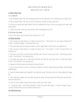 Đề cương ôn tập học kỳ 2 môn Ngữ văn lớp 10