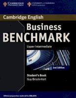 Business benchmark upper intermediate student''s book b