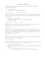 Bài tập mặt phẳng nghiêng có hướng dẫn và đáp số