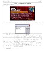 Hướng dẫn sử dụng mô hình dữ liệu bằng PowerDesign