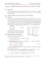 Phân tích ứng xử và thiết kế kết cấu BTCT - Chương 10 Chế độ làm việc của BTCT chịu uốn - lực dọc