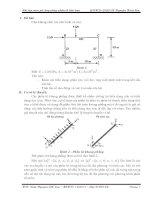 Sử dụng phương pháp phần tử hữu hạn (FEM) để giải bài toán khung phẳng