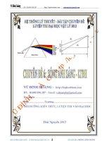 Chuyên đề 6 luyện thi đại học sóng ánh sáng