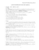 chuyên đề bồi dưỡng hóa học lớp 12