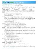 Luyện Đề Anh Văn THPT Quốc Gia Có đáp án Đề Số 10