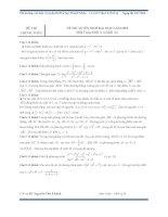 tổng hợp các bộ đề thi thử thpt quốc gia môn toán