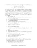 GIÚP TRẺ 5-6 TUỔI CẢM THỤ TRUYỆN KỂ THÔNG QUA  HỆ THỐNG CÂU HỎI