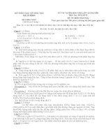 Đề thi chuyên hóa trần phú hải phòng 2014