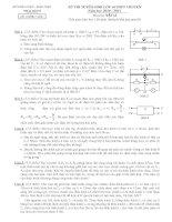 Tập hợp đề ôn thi vào 10, ôn học sinh giỏi môn vật lý lớp 9 (18)