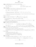 Tổng hợp các đề thi học sinh giỏi toán lớp 8 có đáp án
