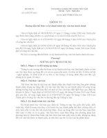 THÔNG TƯ Hướng dẫn thể thức và kỹ thuật trình bày văn bản hành chính