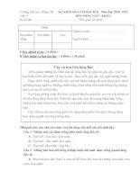 Đề thi cuối HK II Mon toan từ lớp 1 đén lớp 5  chuản không cần chỉnh