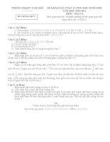 ĐỀ HSG HUYỆN TAM ĐẢO 13/4/2011- TOÁN 3
