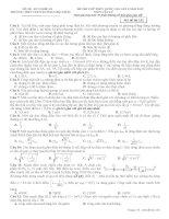 đề thi thử thpt quốc gia môn vật lý năm 2015 chuyên phan bội châu nghệ an