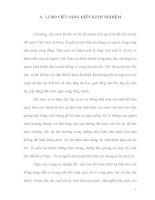 VẬN DỤNG CÁC TẤM  GƯƠNG CÁCH  MẠNG ĐỂ GIÁO DỤC LÒNG YÊU NƯỚC CHO HỌC SINH  TRUNG HỌC PHỔ THÔNG TRONG GIẢNG DẠY MÔN GIÁO DỤC CÔNG DÂN LỚP 10