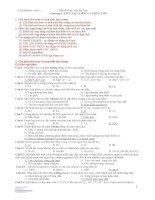 Bài tập về kim loại kiềm thổ