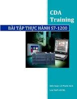 Bài tập thực hành PLC s7 1200
