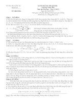 tuyển tập 30 đề thi học sinh giỏi môn hóa học lớp 9 có lời giải chi tiết