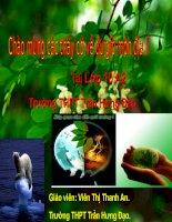 Bài 41. Môi trường và tài nguyên thiên nhiên.