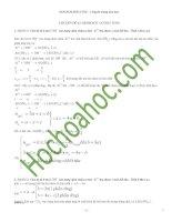 Các dạng bài tập về hidroxit lưỡng tính