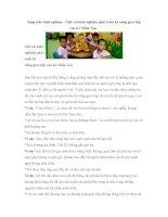 Phát triển kỹ  năng giao tiếp của trẻ mầm non