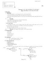 giáo án môn sinh học lớp 9 chuẩn kiến thức kỹ năng ( trọn bộ)