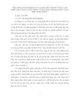 """MỘT SỐ KINH NGHIỆM CỦA GIÁO VIÊN NHẰM NÂNG CAO HIỆU QUẢ GIẢNG DẠY PHẦN """"CÔNG DÂN VỚI ĐẠO ĐỨC CHO HỌC SINH THPT"""
