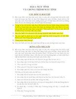giải các bài tập môn tin học lớp 8