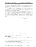ĐỒ ÁN MÔN HỌC KẾT CẤU VÀ TÍNH TOÁN Ô TÔ - THIẾT KẾ HỆ THỐNG PHANH XE TẢI