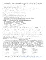 Đề thi tham khảo ôn thi vào lớp 10 môn tiếng anh (5)
