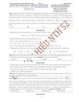 lời giải chi tiết để chuẩn bị cho kỳ thi thpt quốc gia năm 2015 môn vật lý